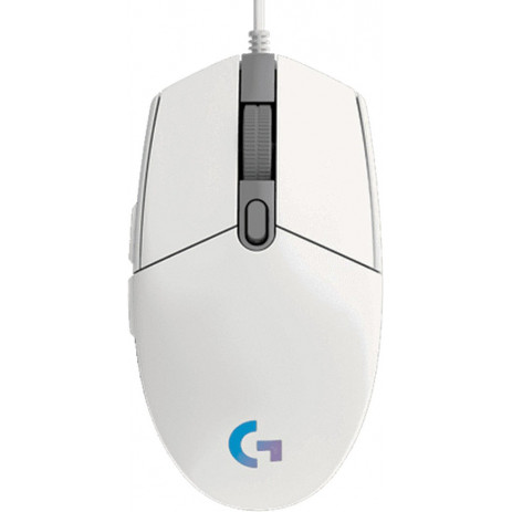 Игровая мышь Logitech G102 Lightsync (белый)