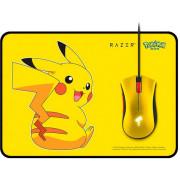 Razer Deathadder Pickachu Mouse с ковриком