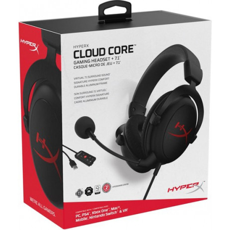 Наушники HyperX Cloud Core 7.1