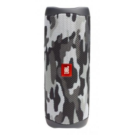 Колонка JBL Flip 5 (черно-белый камуфляж)