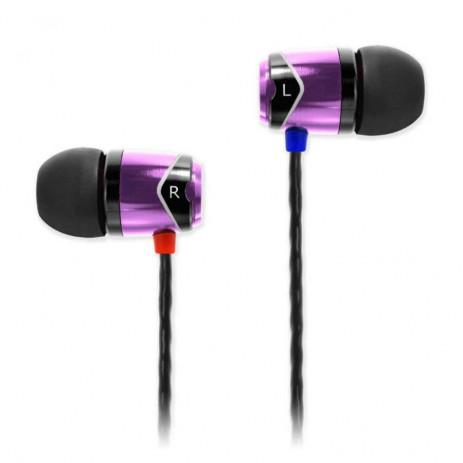 Наушники SoundMagic E10 (черный/фиолетовый)