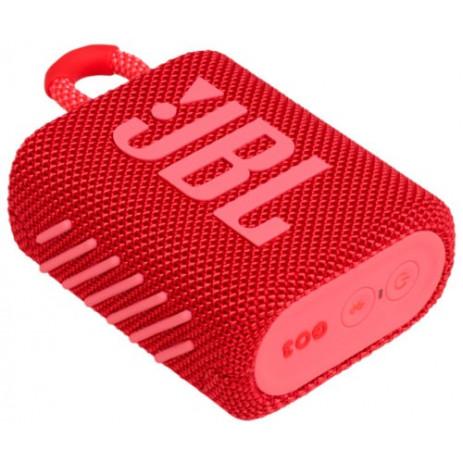Портативная колонка JBL Go3 (красный)