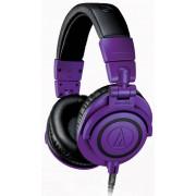 Audio-Technica ATH-M50x (черный/фиолетовый)