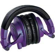 Наушники Audio-Technica ATH-M50x (черный/фиолетовый)