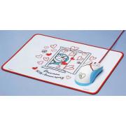 Мышь Razer Doraemon 50th Anniversary Limited Edition + коврик Set Love