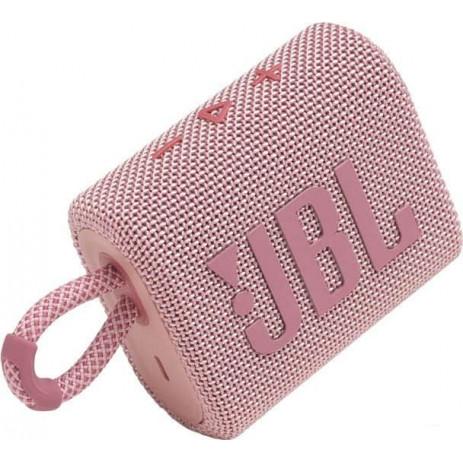Портативная колонка JBL Go3 (розовый)