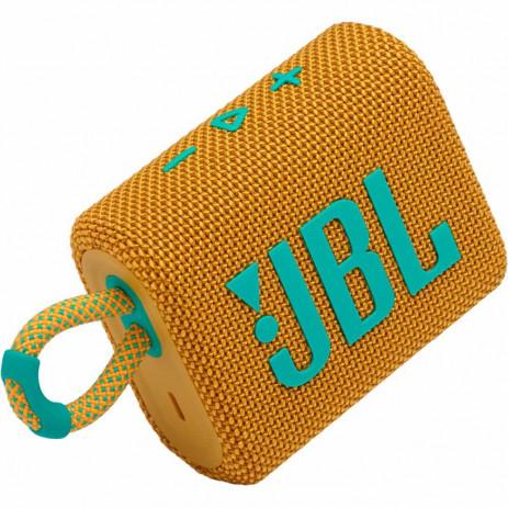 Беспроводная колонка JBL Go3 (желтый)