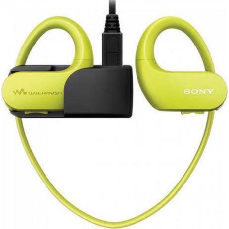 MP3-плеер Sony NW-WS414 8GB (зеленый/желтый)