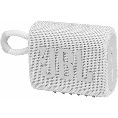 Портативная колонка JBL Go3 (белый)