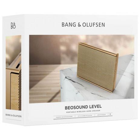 Колонка Bang & Olufsen Beosound Level (золотистый/светлый дуб)