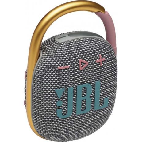 Беспроводная колонка JBL Clip 4 (серый)